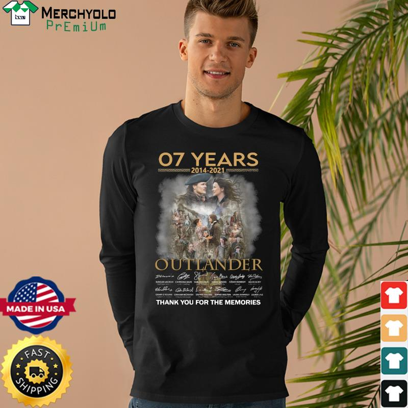 07 years 2014 2021 outlander Thank You For The Memories Signature Shirt Long Sweater