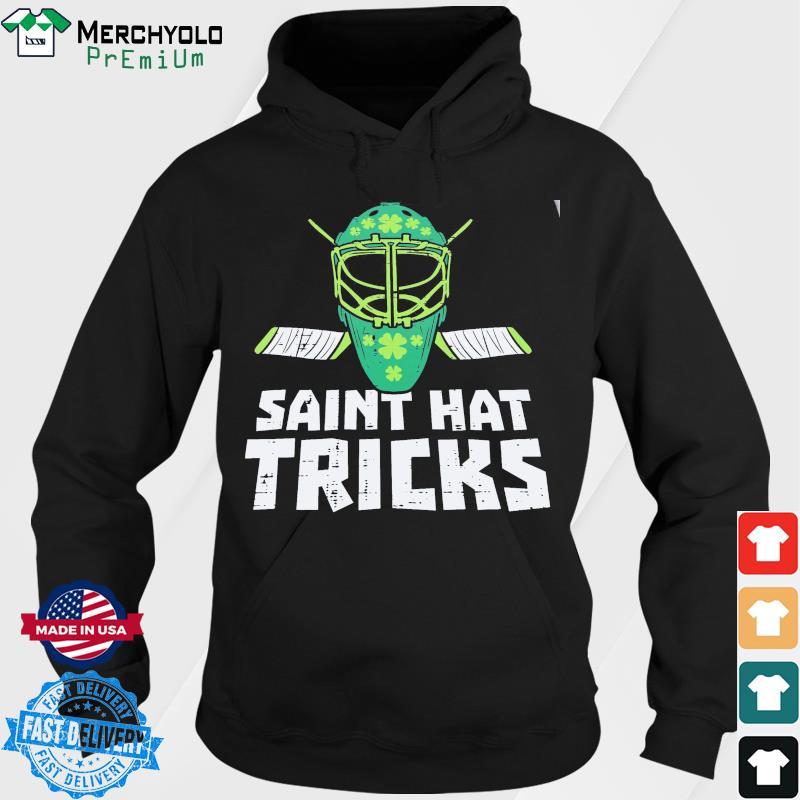 HOCKEY L1 St Saint Hat Tricks Classic T-Shirt Hoodie