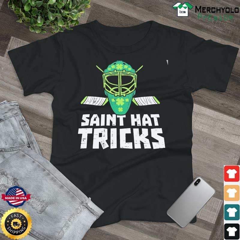 HOCKEY L1 St Saint Hat Tricks Classic T-Shirt