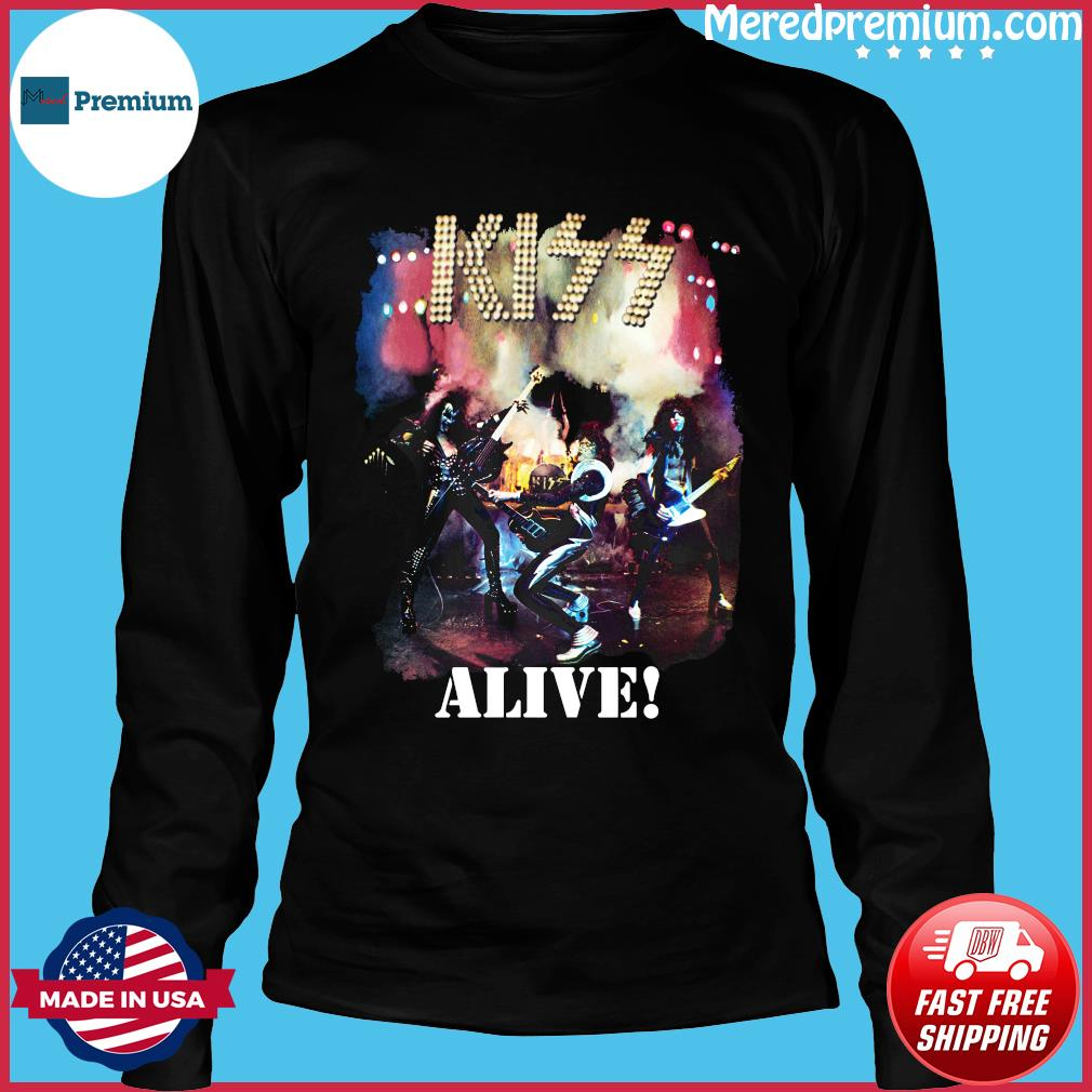 Kiss Alive Shirt Long Sleeve