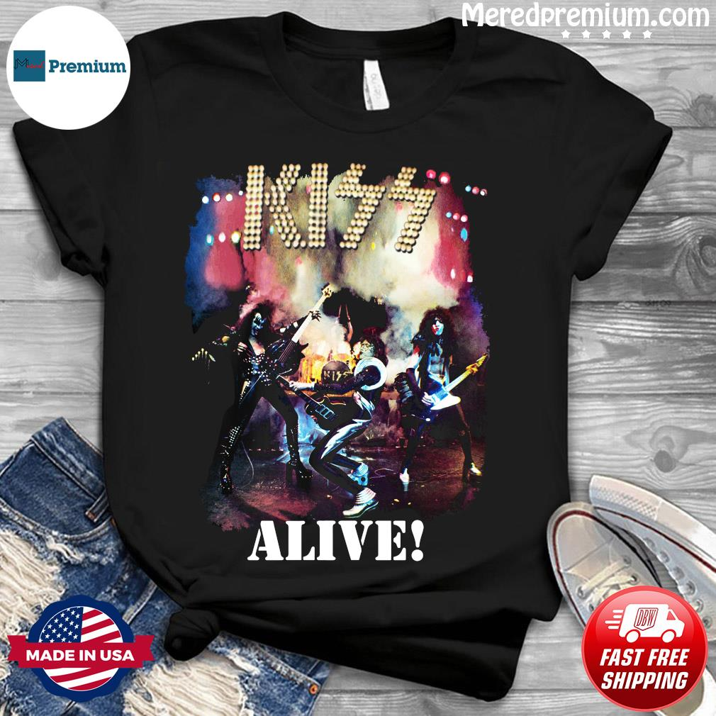 Kiss Alive Shirt