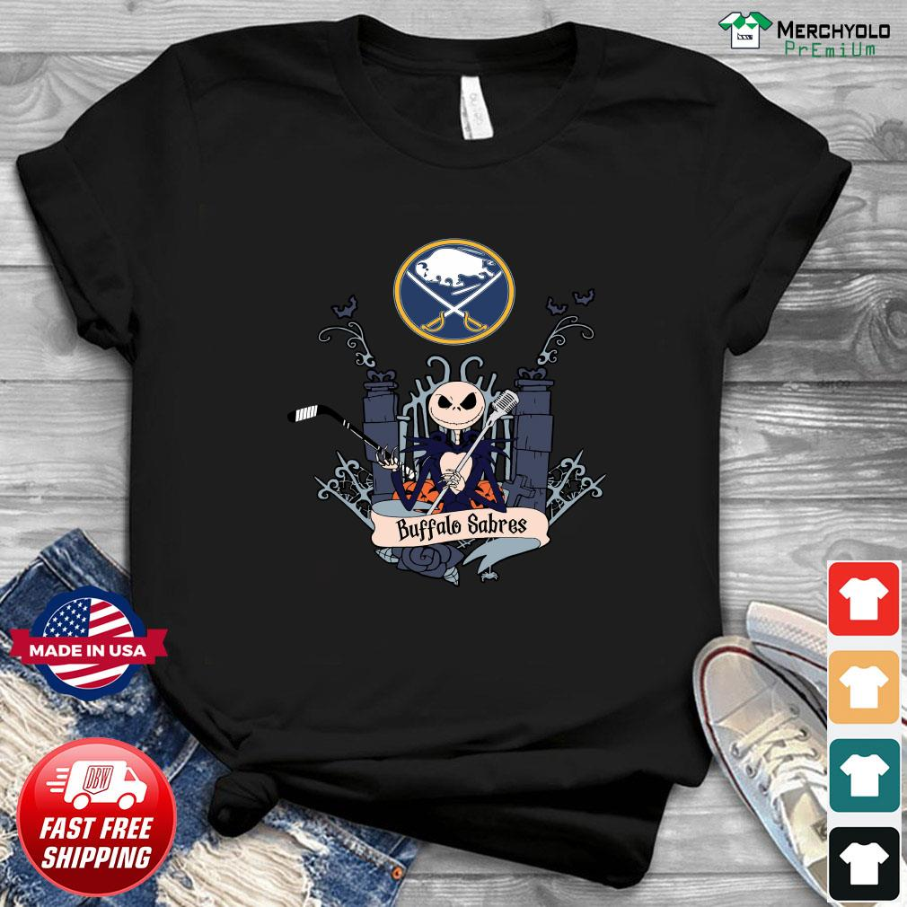 Buffalo Sabres Jack Skellington This Is Halloween NHL Shirt
