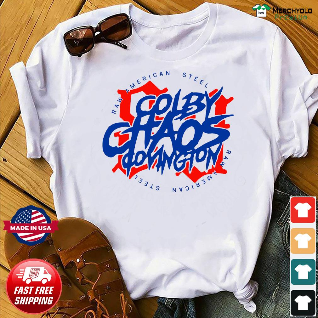 Colby Chaos Covington Raw American Steel 91 T-Shirt