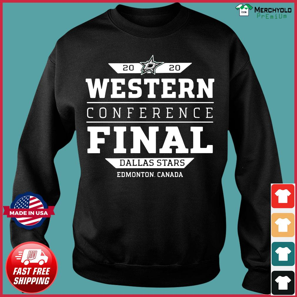 Dallas Stars 2020 Western Conference Final Edmonton Canada Shirt Sweater