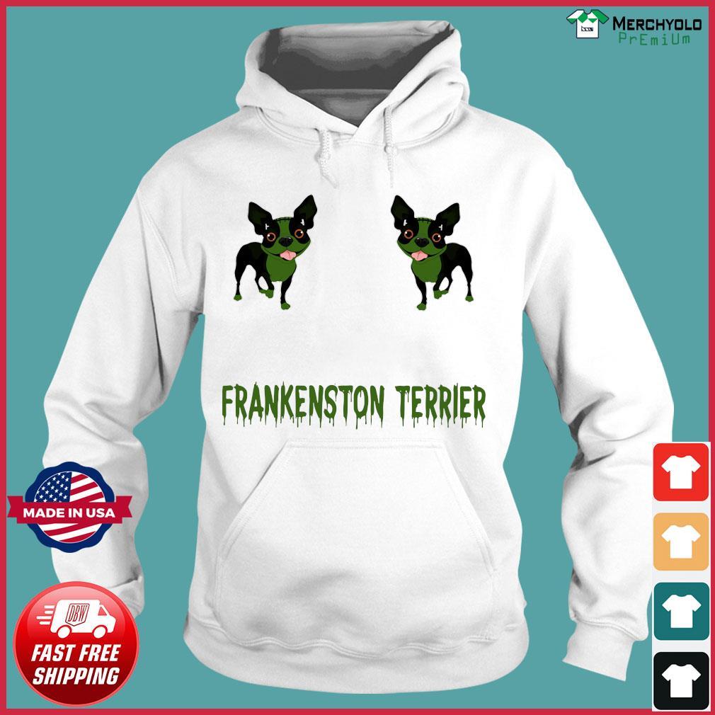 Frankenstein Terrier Shirt Hoodie