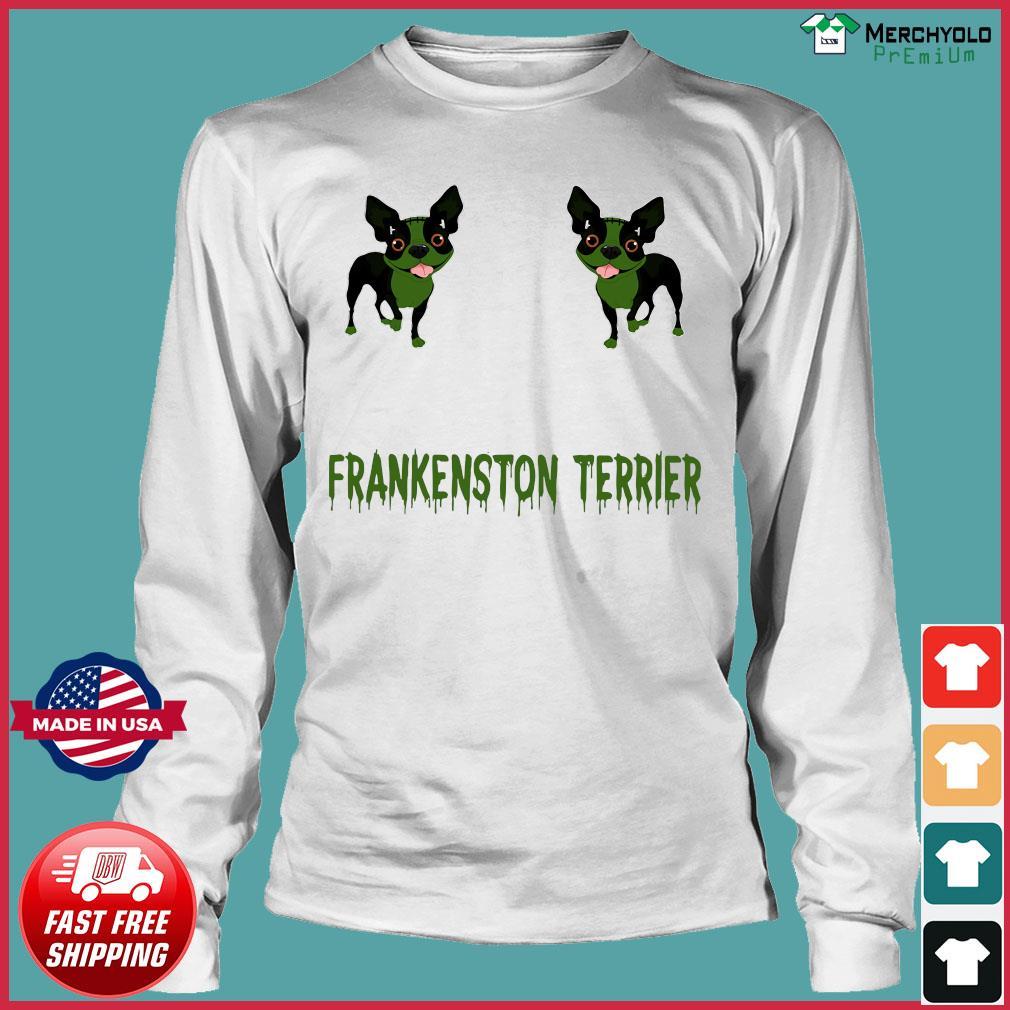 Frankenstein Terrier Shirt Long Sleeve