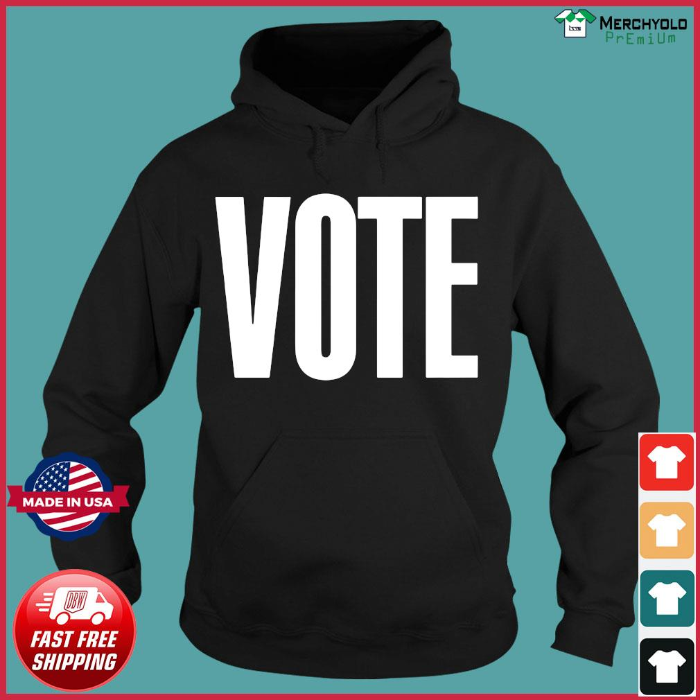 Logo NBA Vote T-Shirt Hoodie