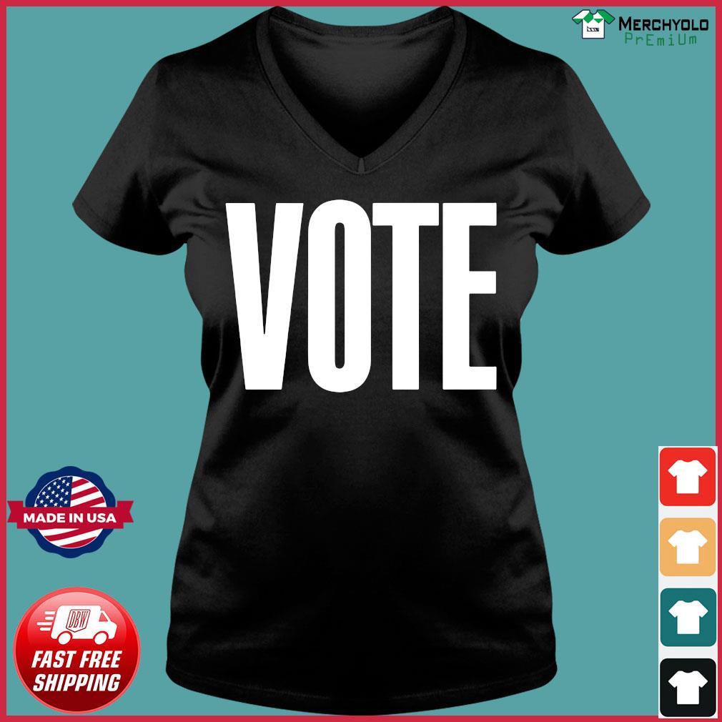 Logo NBA Vote T-Shirt Ladies V-neck Tee