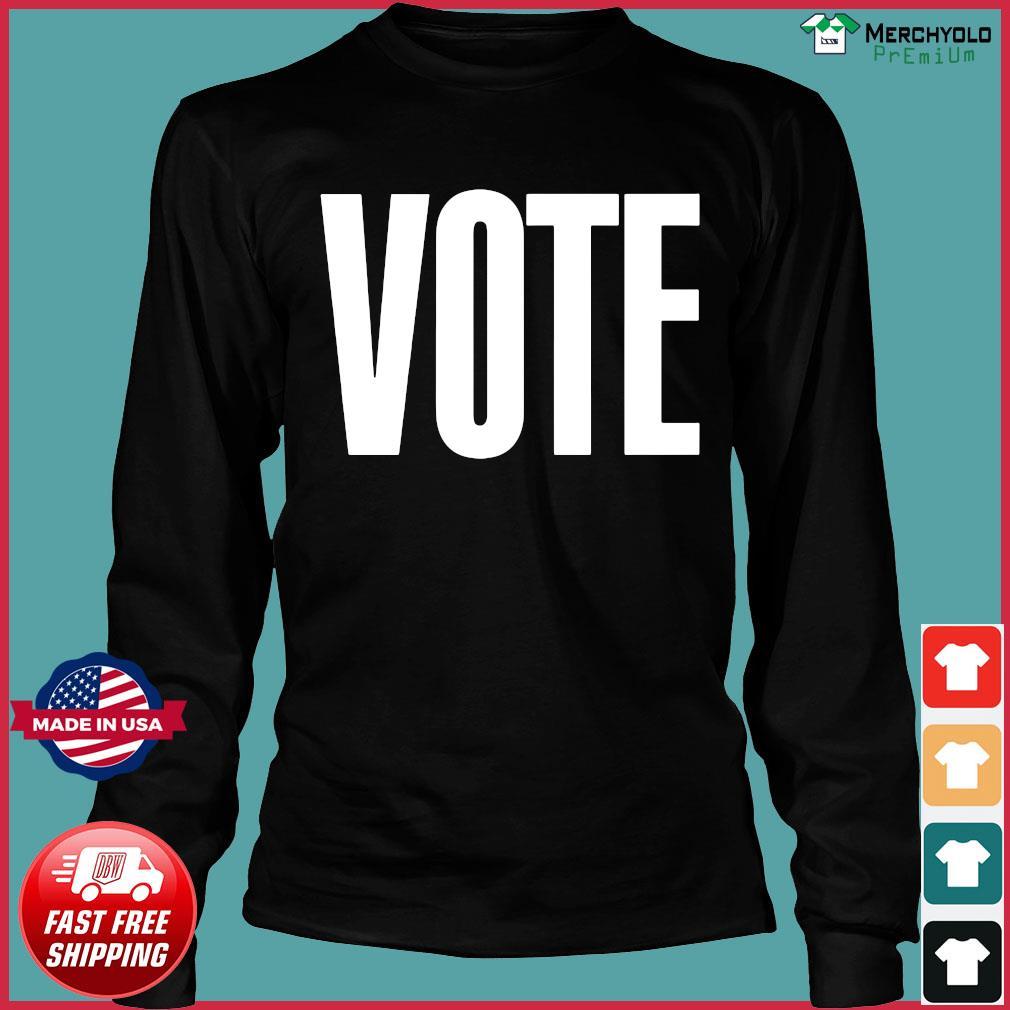Logo NBA Vote T-Shirt Long Sleeve