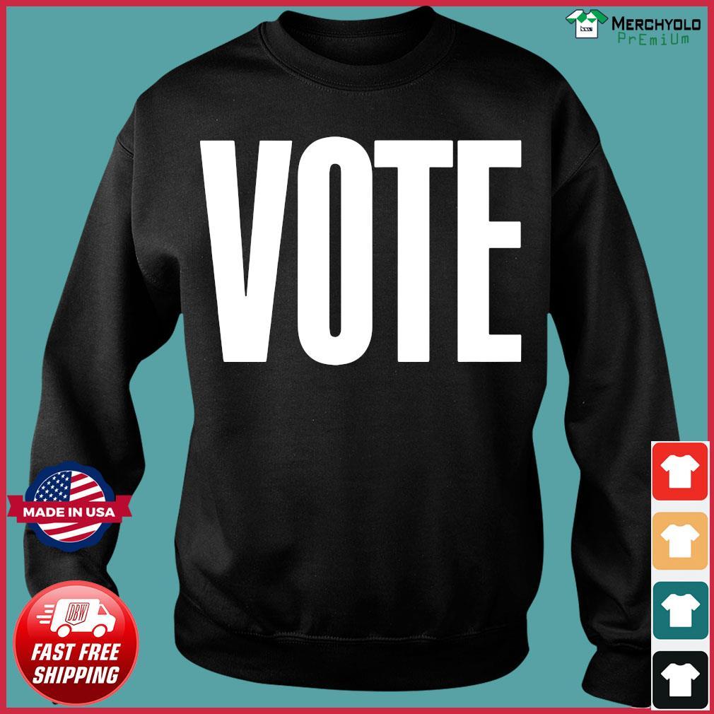 Logo NBA Vote T-Shirt Sweater