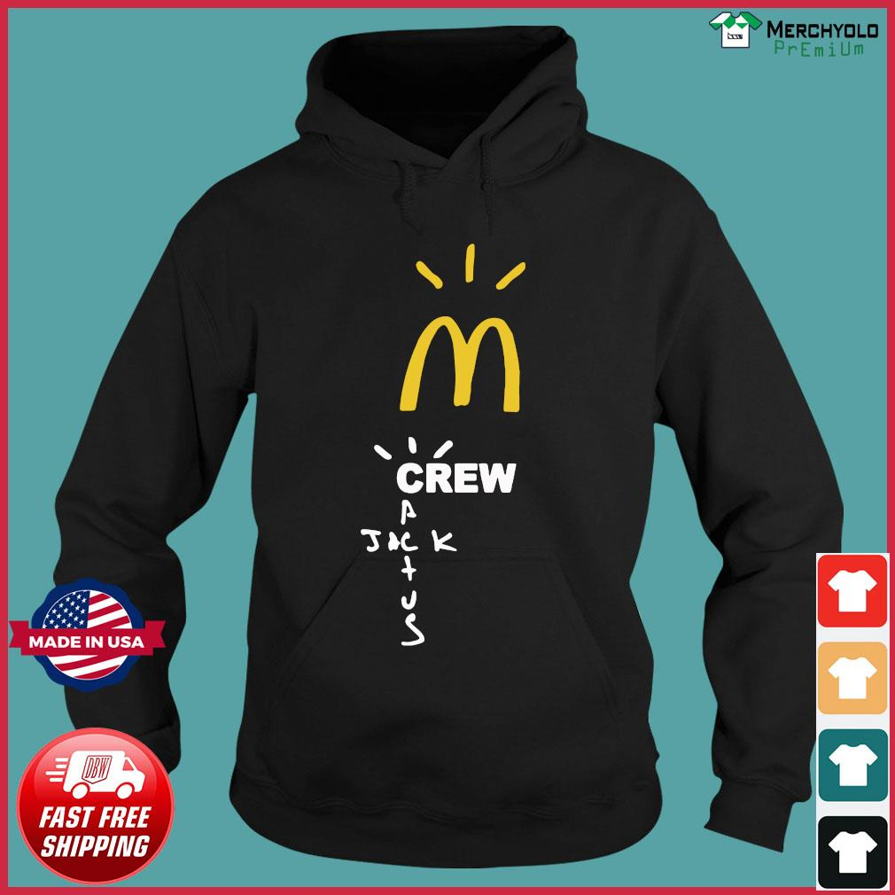 Mcdonalds Travis Scott Employee Travis Scott X Mcdonald's Merch Shirt Hoodie