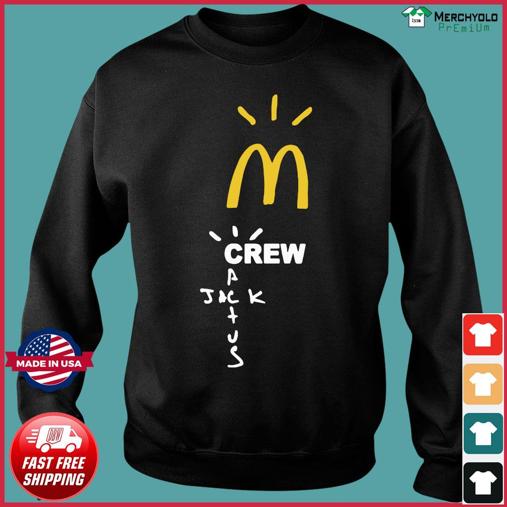 Mcdonalds Travis Scott Employee Travis Scott X Mcdonald's Merch Shirt Sweater