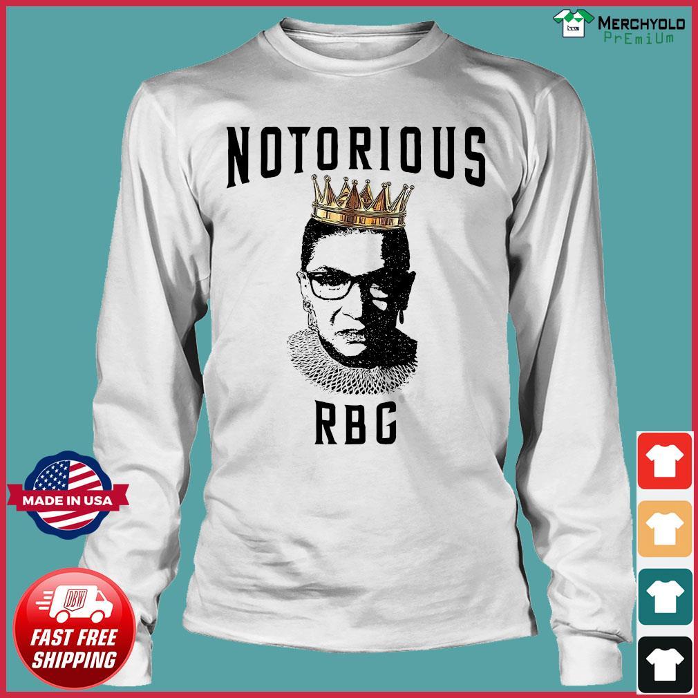 Notorious Ruth Bader Ginsburg RBG Shirt Long Sleeve