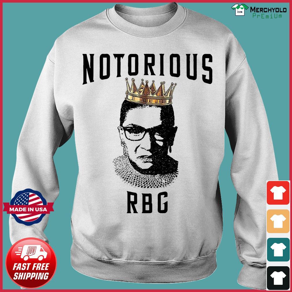 Notorious Ruth Bader Ginsburg RBG Shirt Sweater