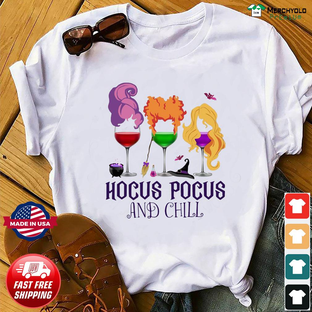 Official Hocus Pocus And Chill Halloween Shirt