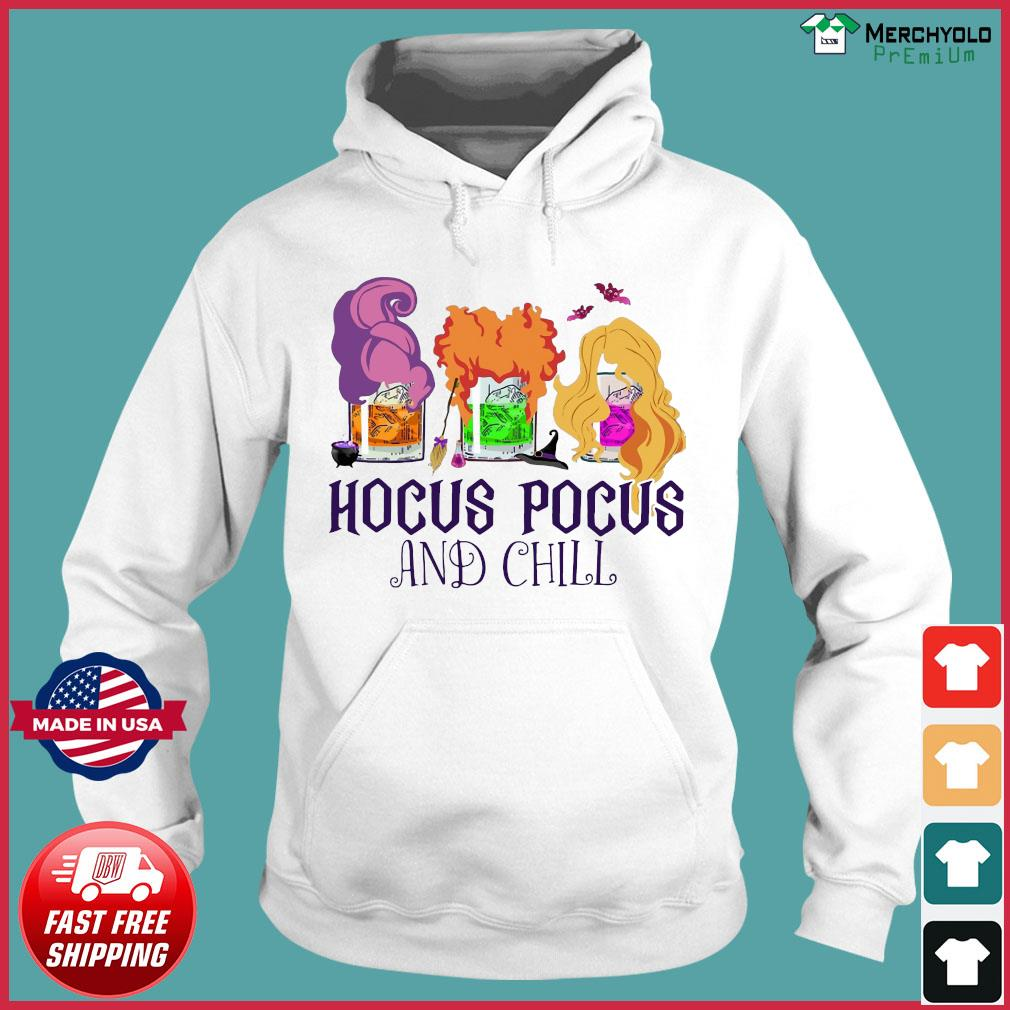 Official Hocus Pocus And Chill Halloween T-Shirt Hoodie