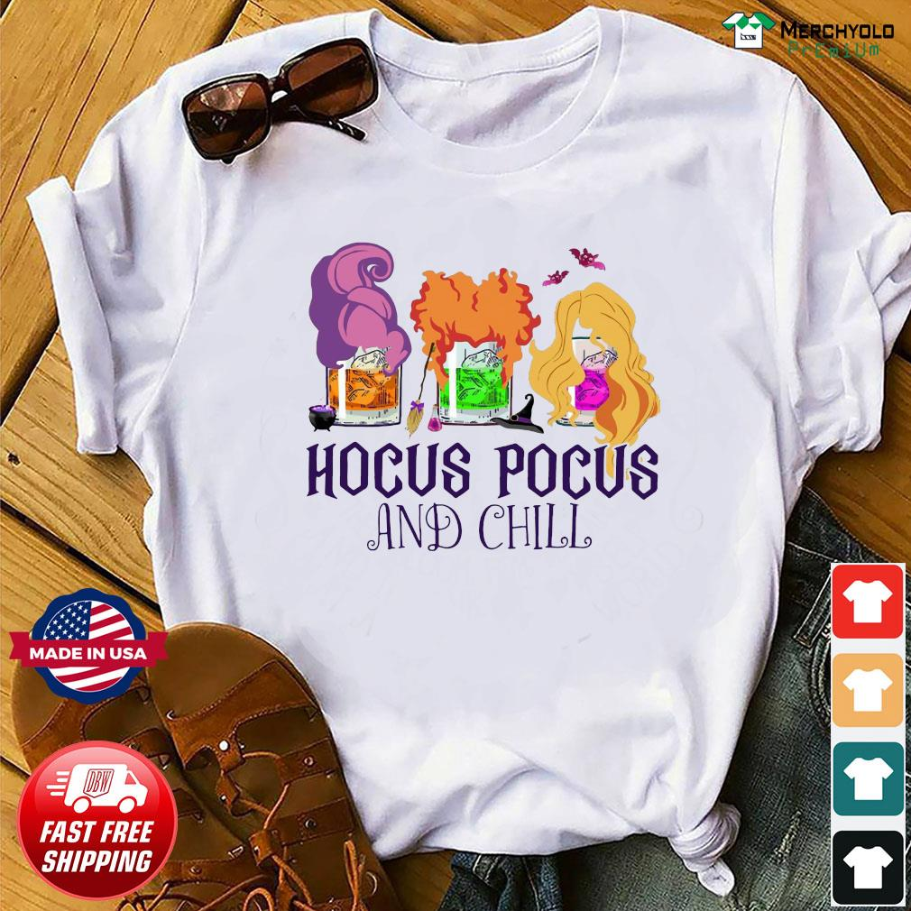 Official Hocus Pocus And Chill Halloween T-Shirt