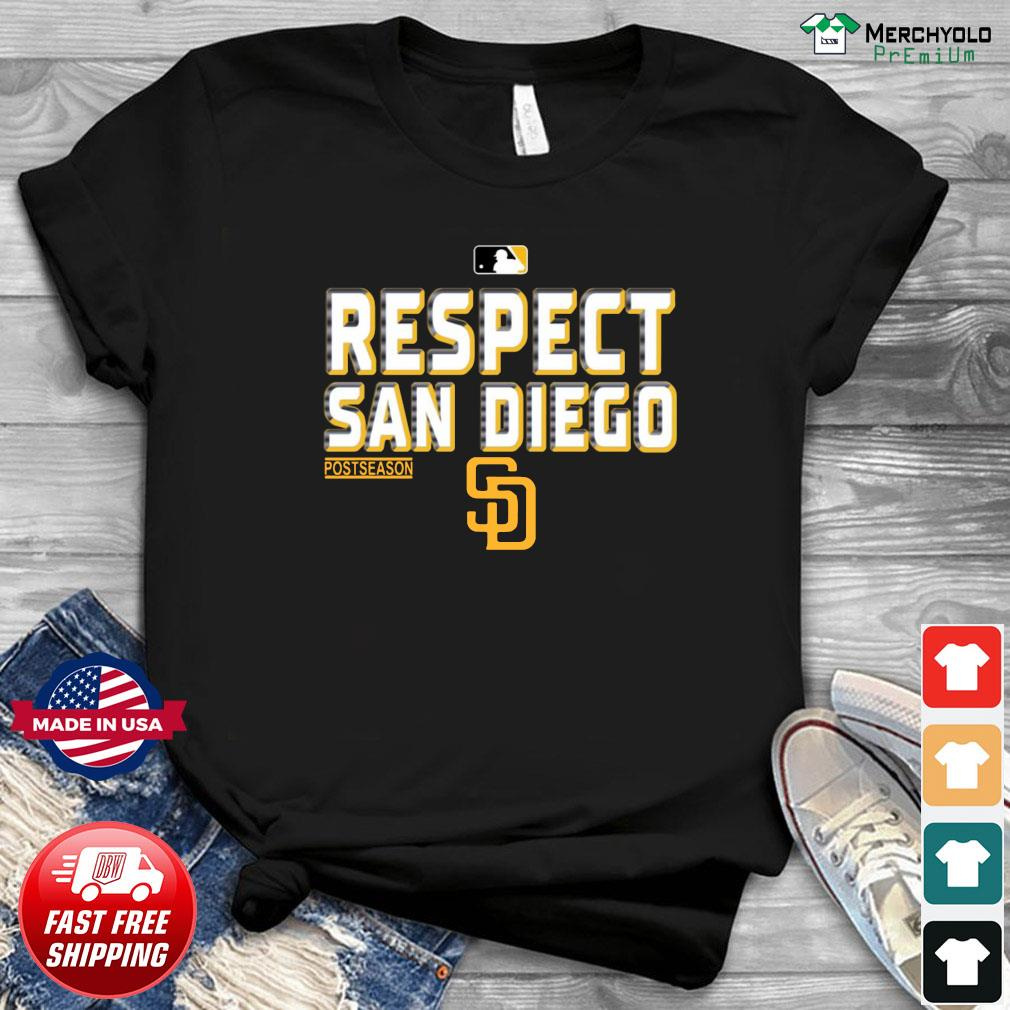 Official Respect San Diego Padres Shirt