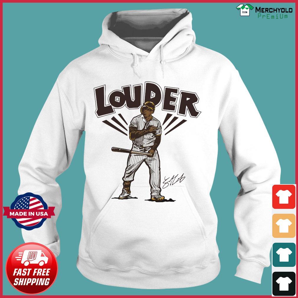 Official Slam Diego Louder Hoodies Shirt Hoodie