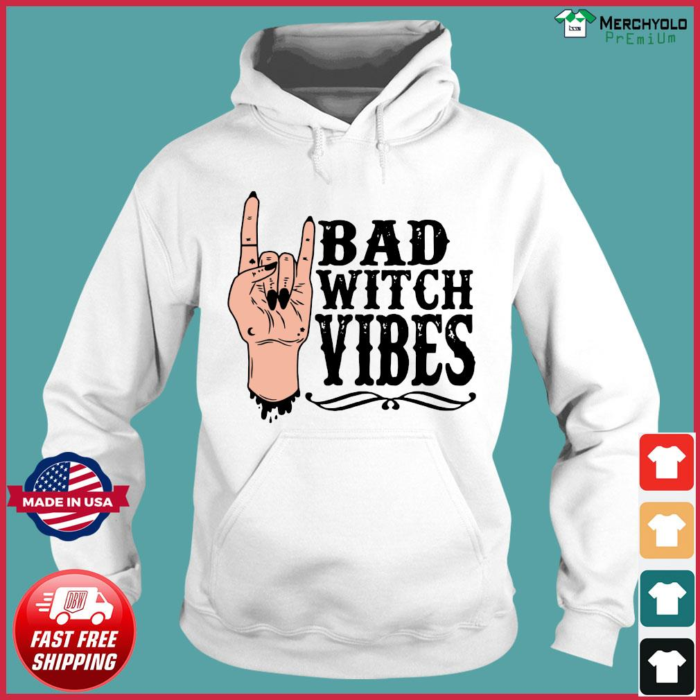 Peace Bad Witch Vibes Halloween Shirt Hoodie