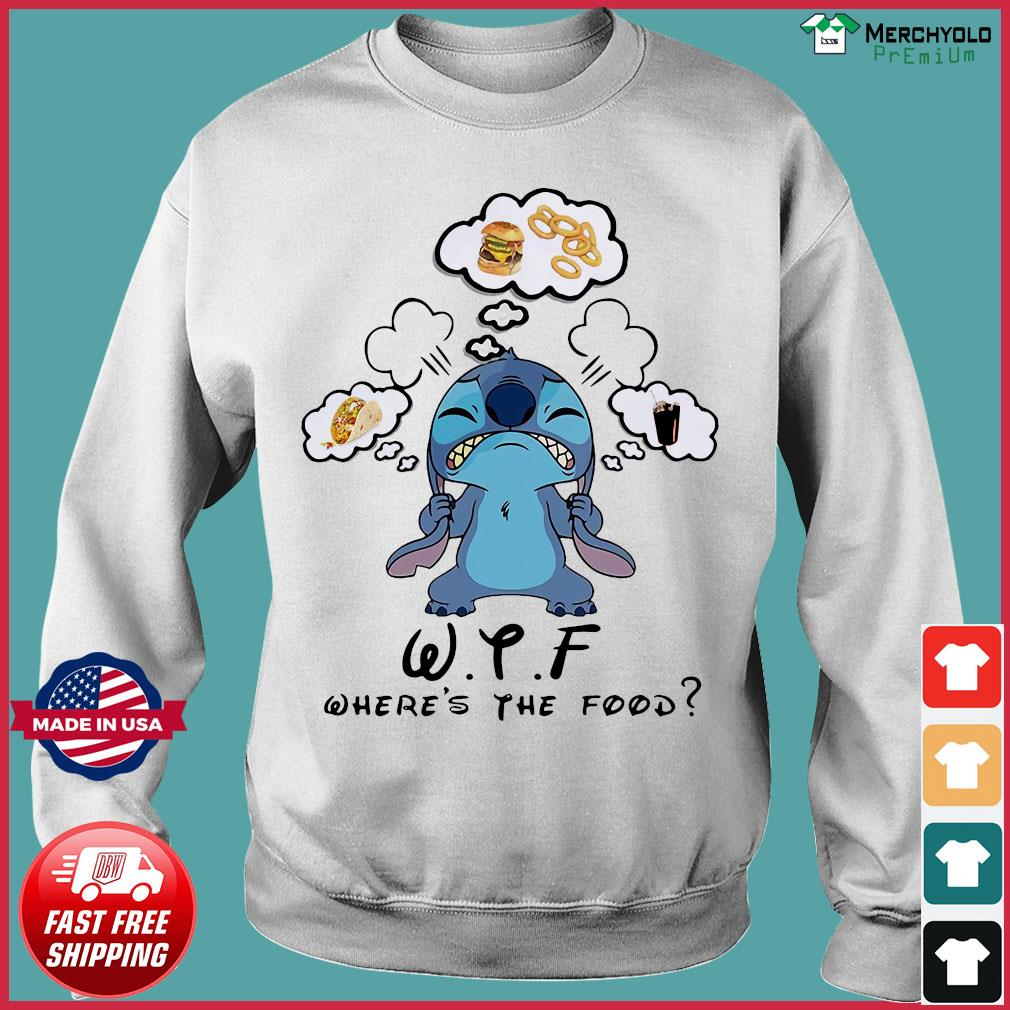 Stitch WTF Where's The Food Shirt Sweater