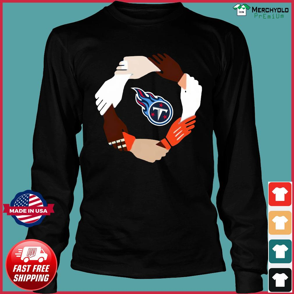 Tennessee Titans Hand By Hand Shirt Long Sleeve