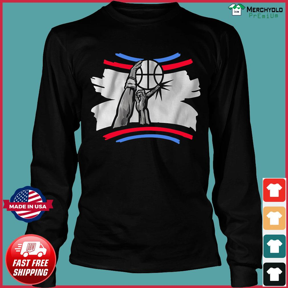 The Finger Block Los Angeles Basketball 2020 Funny Shirt Long Sleeve