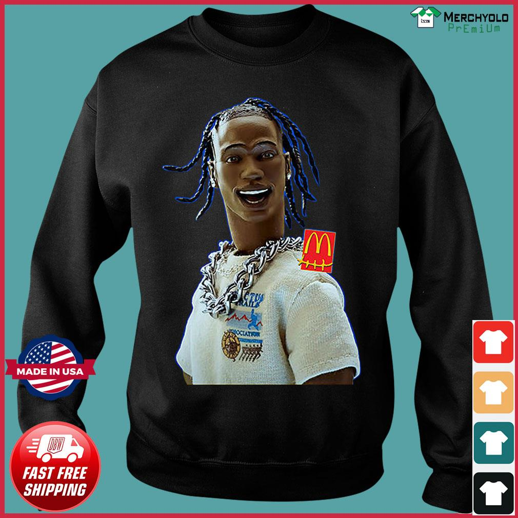 Travis Scott Drops McDonald's Including Full-Body McNugget Pillow Shirt Sweater