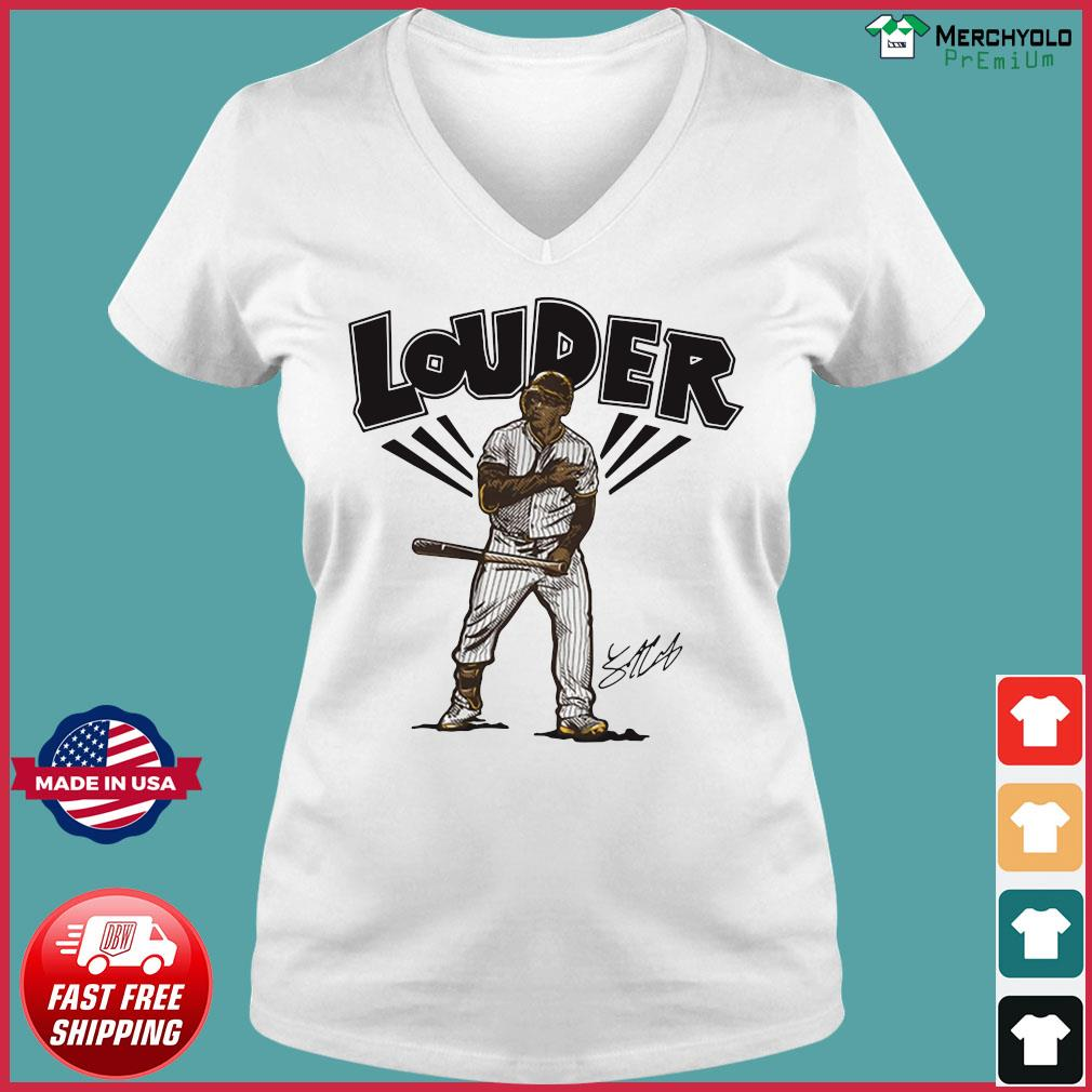 Trent Grisham Louder San Diego Shirt Ladies V-neck Tee