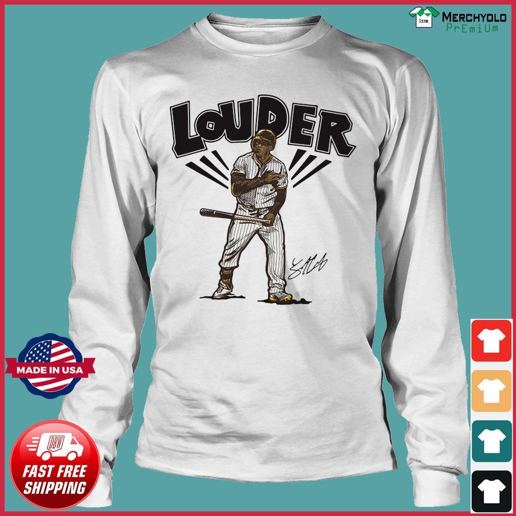 Trent Grisham Louder San Diego Shirt Long Sleeve
