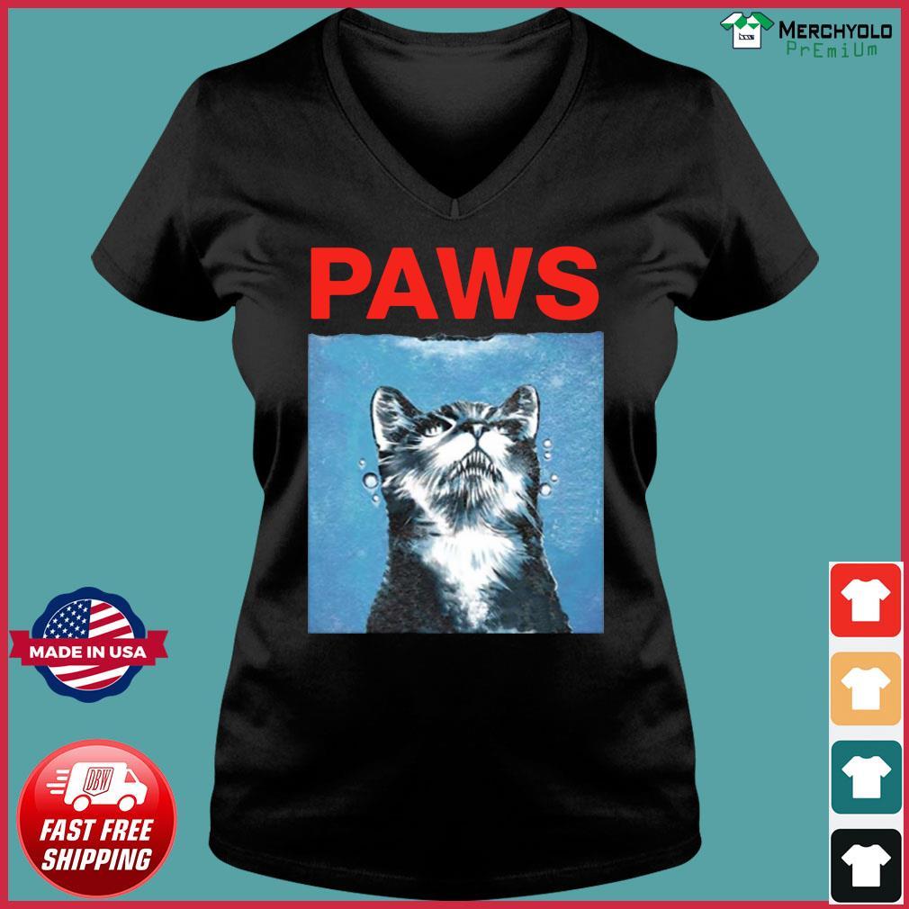 2020 Tony Gonsolin Cat Paws Shirt Ladies V-neck Tee