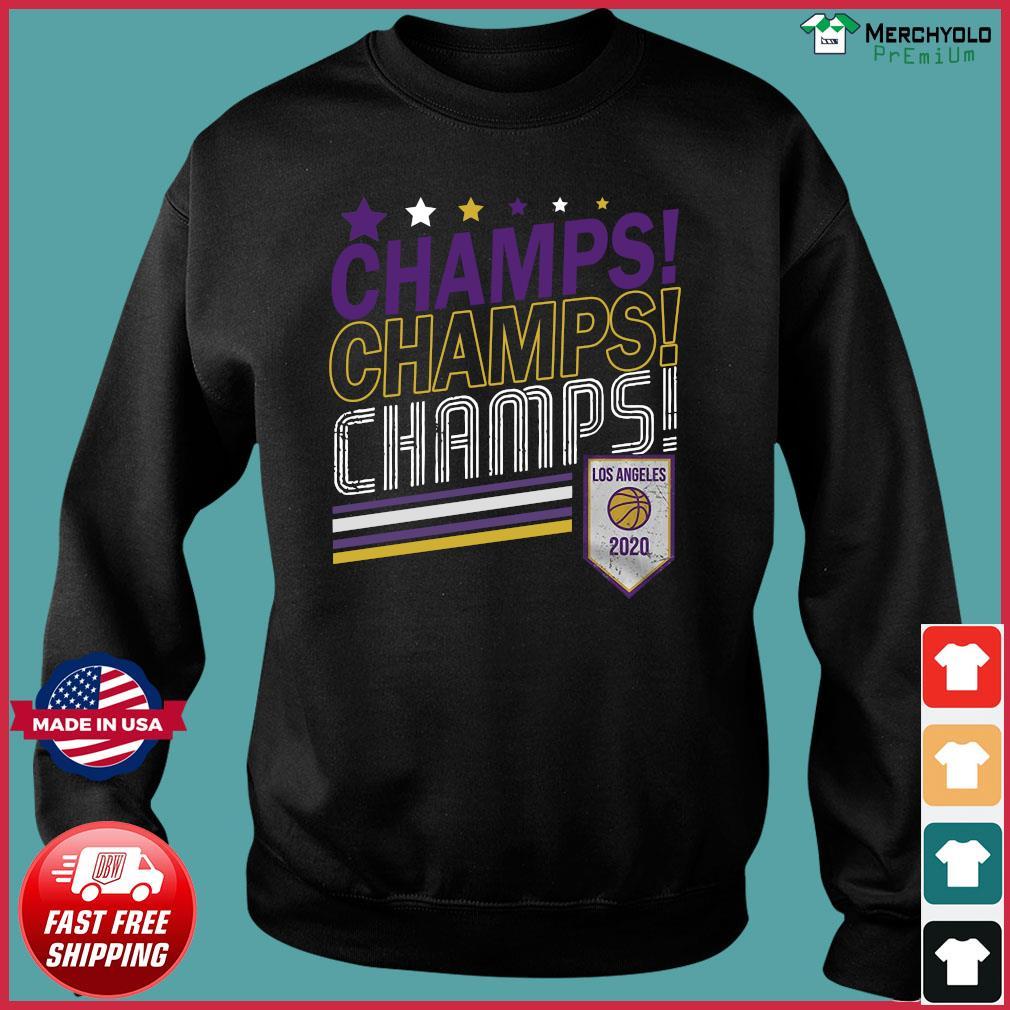 Champs Champs Champs Los Angeles 2020 Baseball Shirt Sweater