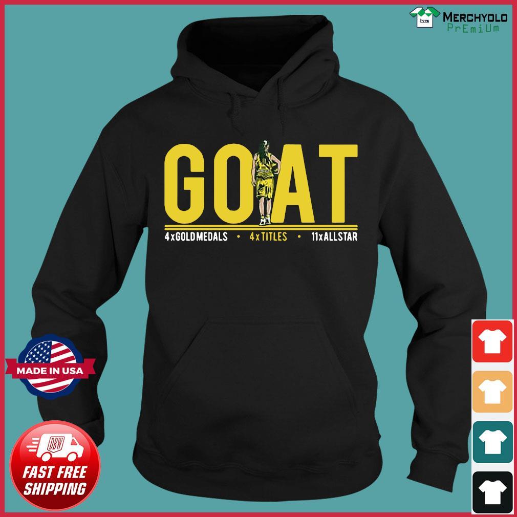 Goat 4x Gold Medals 4x Titles 11x All Star Shirt Hoodie