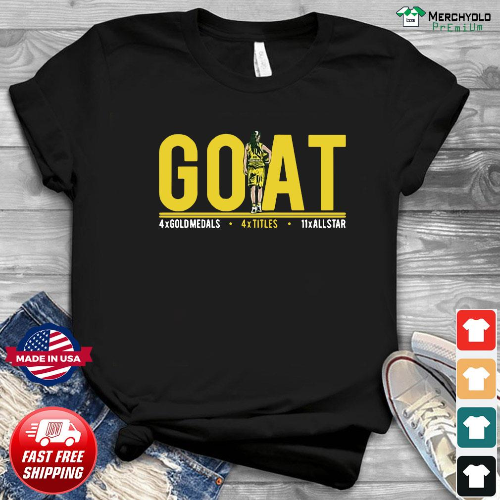 Goat 4x Gold Medals 4x Titles 11x All Star Shirt