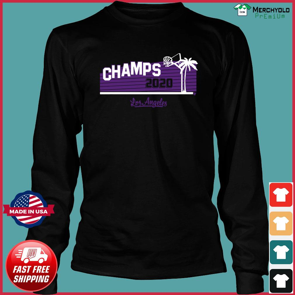 Hollywood Champs Shirt – L.A 2020 Basketball Long Sleeve