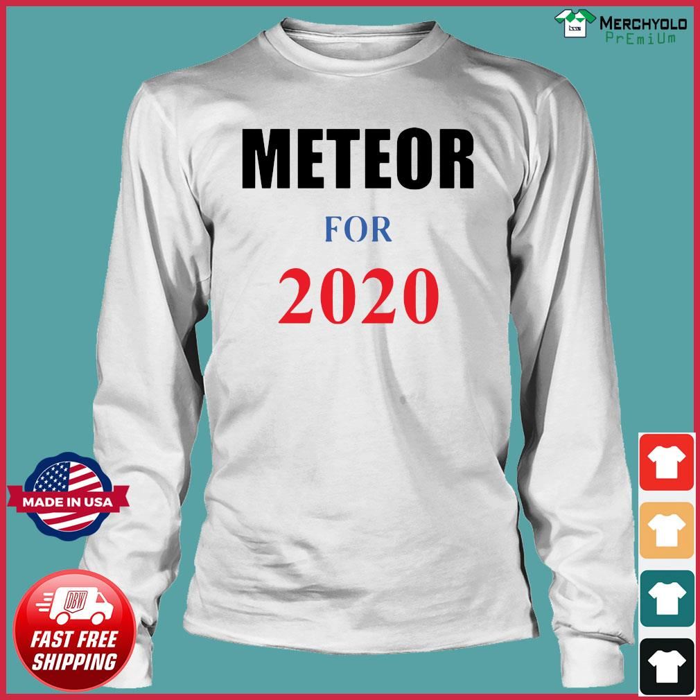 Meteor for 2020 Official T-Shirt Long Sleeve