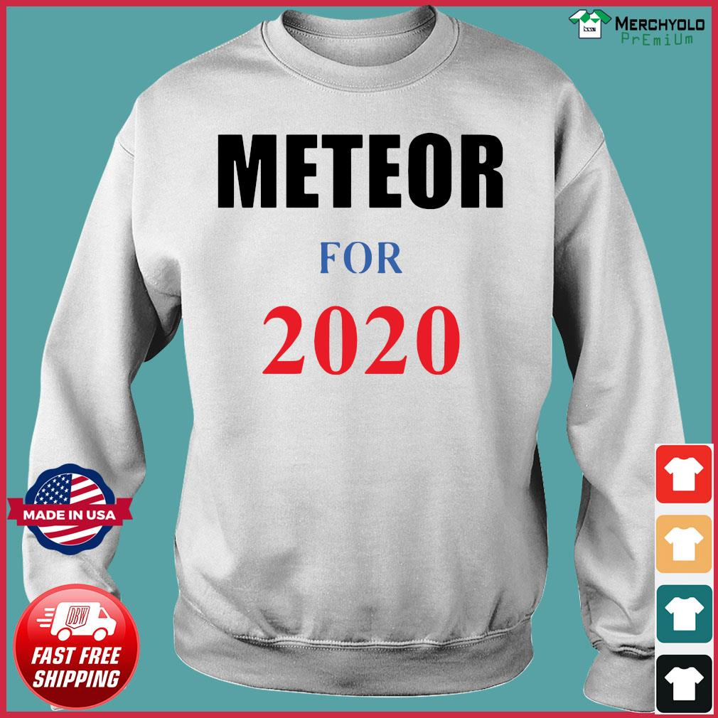 Meteor for 2020 Official T-Shirt Sweater