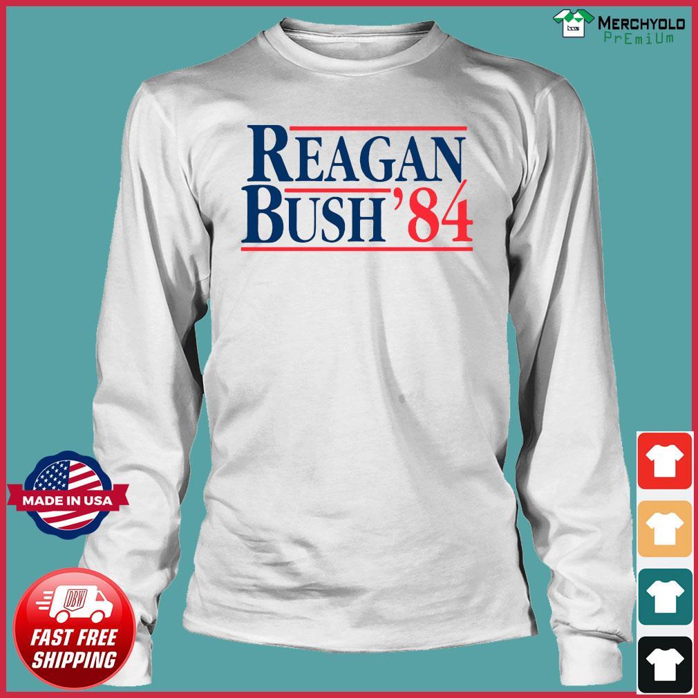 Reagan Bush 84 Shirt Long Sleeve