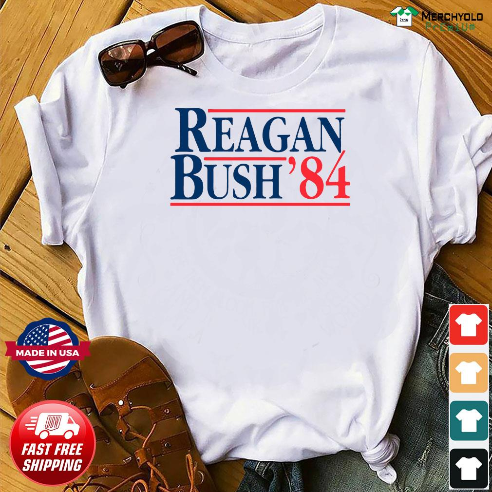 Reagan Bush 84 Shirt