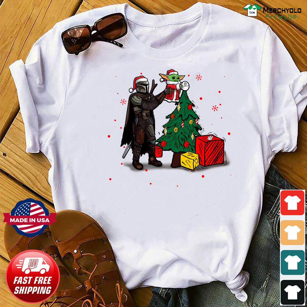 Baby Yoda The Mandalorian Star Wars Christmas 2020 Christmas Sweats Shirt
