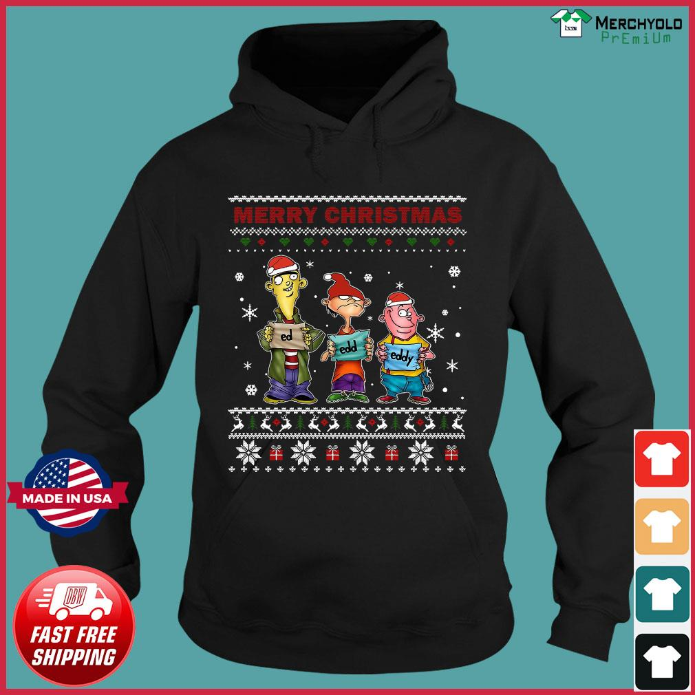 Ed Edd Eddy Merry Christmas Ugly Sweats Hoodie
