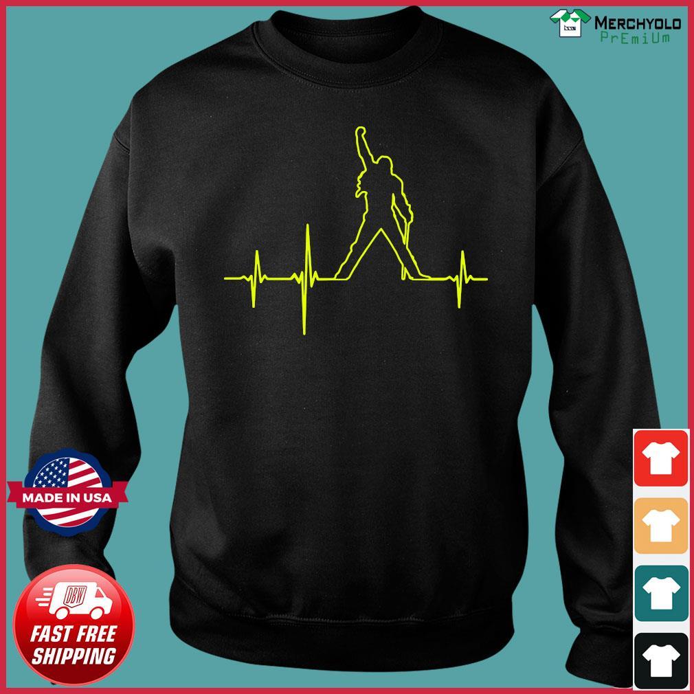 Freddie Mercury Heartbeat Shirt Sweater