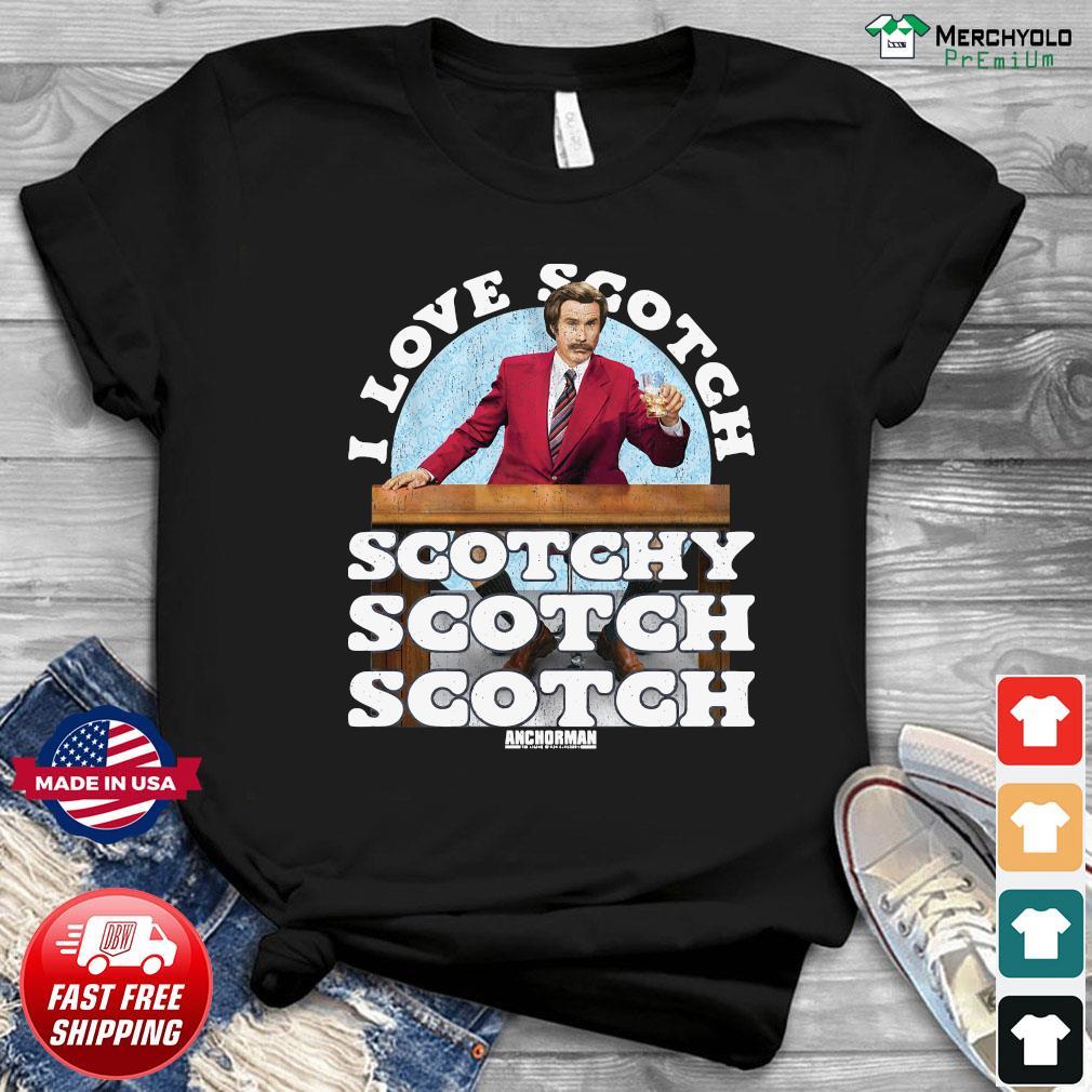 I Love Scotch Scotchy Scotch Scotch Anchorman Merry Christmas Sweatshirt