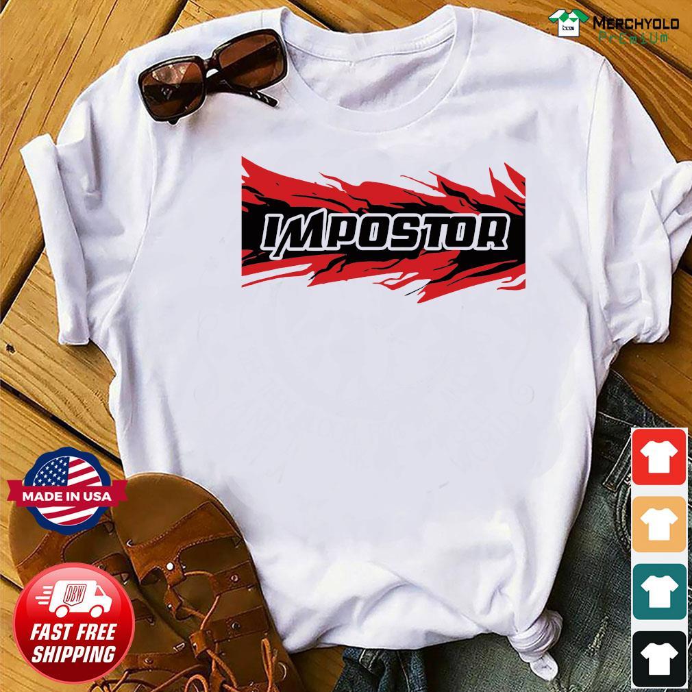 Impostor Jordan 4 Fire Red Shirt
