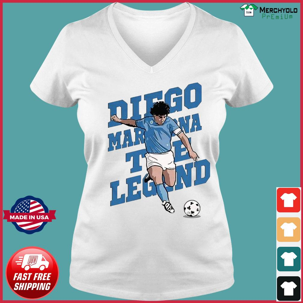 RIP Diego Maradona We Why Miss Your Diego Maradona Shirt Ladies V-neck Tee