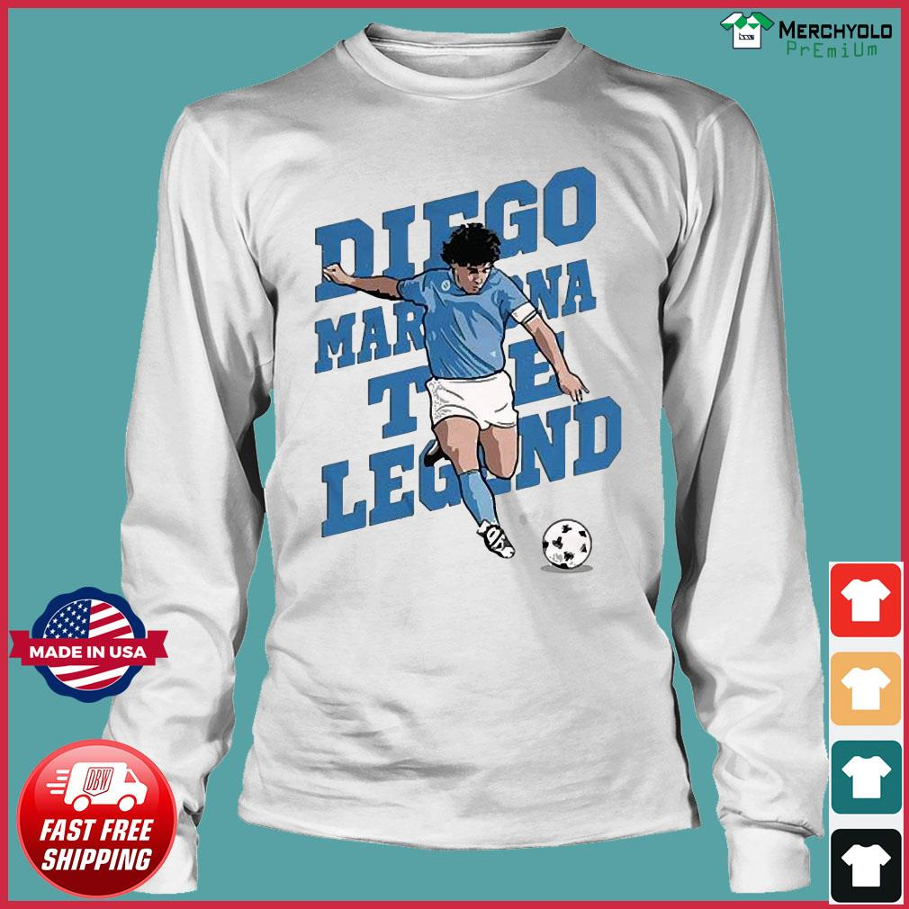 RIP Diego Maradona We Why Miss Your Diego Maradona Shirt Long Sleeve