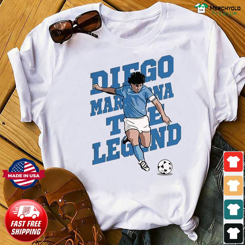 RIP Diego Maradona We Why Miss Your Diego Maradona Shirt