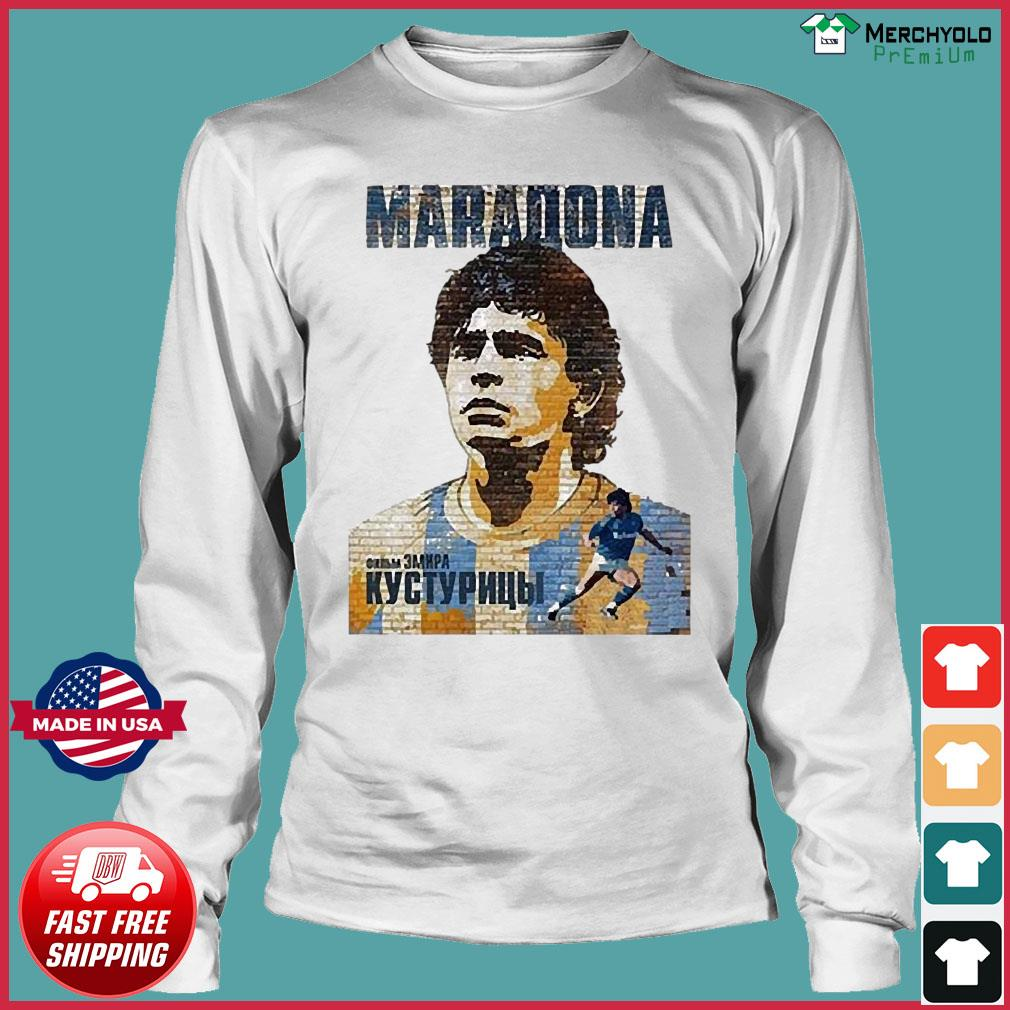 RIP Maradona Diego We will miss you Diego Maradona Footballer football Shirt Long Sleeve