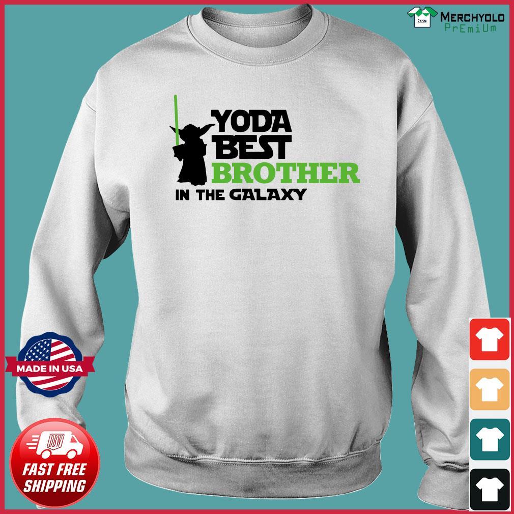 Star War Baby Yoda Best Brother In The Galaxy Shirt Sweater
