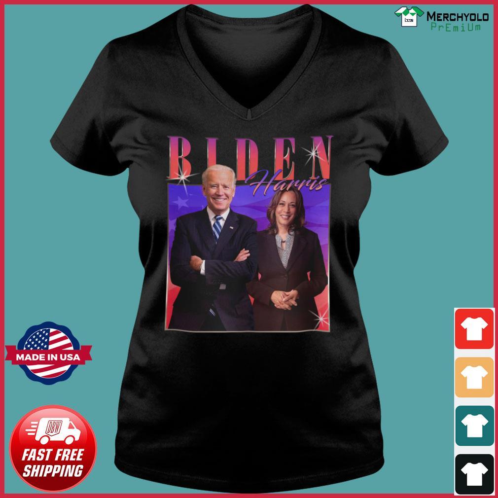 Vintage Biden Harris Homage Joe Biden Kamala Harris 2020 Shirt Ladies V-neck Tee